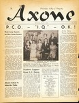 Axone, October 1951 by Philadelphia College of Osteopathy
