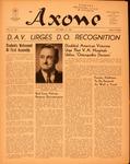 Axone, October 1952