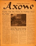Axone, May 1952 by Philadelphia College of Osteopathy