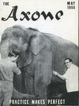 Axone, May 1955 by Philadelphia College of Osteopathy