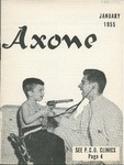 Axone, January 1955 by Philadelphia College of Osteopathy