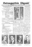 Osteopathic Digest (June 27, 1930)