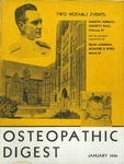 Osteopathic Digest (January 1936) by Philadelphia College of Osteopathy