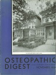 Osteopathic Digest (November 1936) by Philadelphia College of Osteopathy