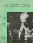 Osteopathic Digest (September 1942) by Philadelphia College of Osteopathy