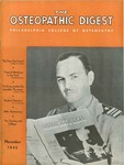 Osteopathic Digest (November 1942) by Philadelphia College of Osteopathy
