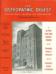 Osteopathic Digest (December 1945) by Philadelphia College of Osteopathy