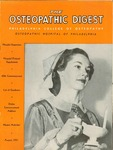 Osteopathic Digest (August 1951) by Philadelphia College of Osteopathy
