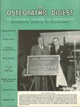 Osteopathic Digest (November 1951) by Philadelphia College of Osteopathy