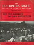 Osteopathic Digest (December 1954)