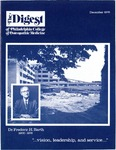 Digest of the Philadelphia College of Osteopathic Medicine (December 1976) by Philadelphia College of Osteopathic Medicine