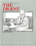 Digest of the Philadelphia College of Osteopathic Medicine (Winter 1982-1983) by Philadelphia College of Osteopathic Medicine
