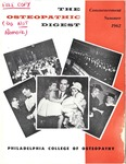 Osteopathic Digest (Summer 1962) by Philadelphia College of Osteopathy