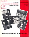 Osteopathic Digest (Summer 1964) by Philadelphia College of Osteopathy