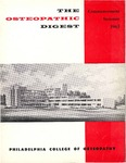 Osteopathic Digest (Summer 1965) by Philadelphia College of Osteopathy