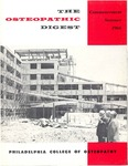 Osteopathic Digest (Summer 1966) by Philadelphia College of Osteopathy