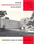 Osteopathic Digest (Summer 1968) by Philadelphia College of Osteopathic Medicine