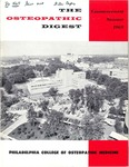 Osteopathic Digest (Summer 1969) by Philadelphia College of Osteopathic Medicine