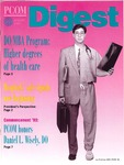 Digest of the Philadelphia College of Osteopathic Medicine (Summer 1993)
