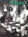 Digest of the Philadelphia College of Osteopathic Medicine (Spring 1995) by Philadelphia College of Osteopathic Medicine