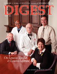 Digest of the Philadelphia College of Osteopathic Medicine (Fall 2010) by Philadelphia College of Osteopathic Medicine