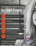 Webinar: Achieving Health Equity for LGBT People