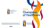 Champions of Healthcare Awards 2014 Program by PCOM Office of Diversity and Community Relations