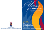 Champions of Healthcare Awards 2015 Invitation