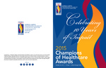 Champions of Healthcare Awards 2015 Program