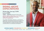 Rising Above Expectations by Christopher Coleman and PCOM Office of Diversity and Community Relations