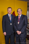 Founders' Day 2012 Medal Recipients Ryan and Veit