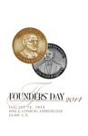 Program Cover from PCOM Founders' Day 2014