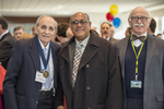 Founders' Day, 2015, Saul Jeck, Oliver Bullock (2015 O.J. Snyder Memorial Medal Recipient), and Burton Mark.