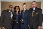 Founders' Day, 2015, Oliver Bullock, Valerie Moore, Lauren Smith, Joseph Dieterle