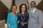 Founders' Day, 2015, Pressley Medal Recipient Valerie Moore and Family.