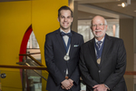 Founder's Day, 2016, Medal Recipients Zachary Herrman and Richard Pascucci