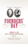 2015 Founders' Day by Philadelphia College of Osteopathic Medicine