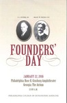 2016 Founders' Day by Philadelphia College of Osteopathic Medicine