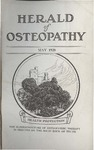 Herald of Osteopathy, May 1928 by Herald of Osteopathy