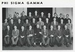 Phi Sigma Gamma (1938 Synapsis) by Philadelphia College of Osteopathy