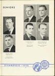 Senior Class Portrait (1938 Synapsis) by Philadelphia College of Osteopathy