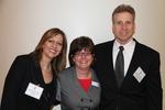 Dr. Fanning Welcomes Irene von Hennigs and Adam Allgood, Abbott Labs