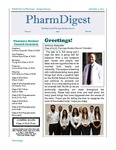 PharmDigest Volume 2, Issue 1 by Philadelphia College of Osteopathic Medicine, School of Pharmacy