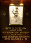 Ginsburg, Rose K.