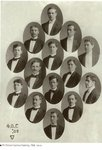 Phi Omicron Gamma Fraternity 1908 by Philadelphia College of Osteopathic Medicine