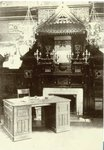 View in the Japanesque-style Library, 33rd and Arch Streets, 1903