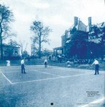 Tennis Courts on the College Campus at 33rd and Arch Streets, 1907