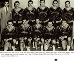PCO Basketball Team, 1954