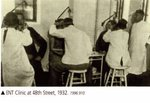 ENT Clinic at 48th Street, 1932