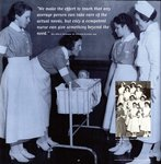 Student Nurses Learning about Infant Care, circa 1933